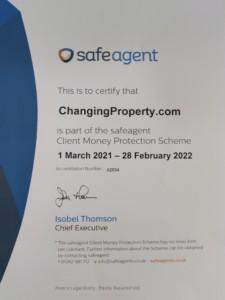 safeagent certificate